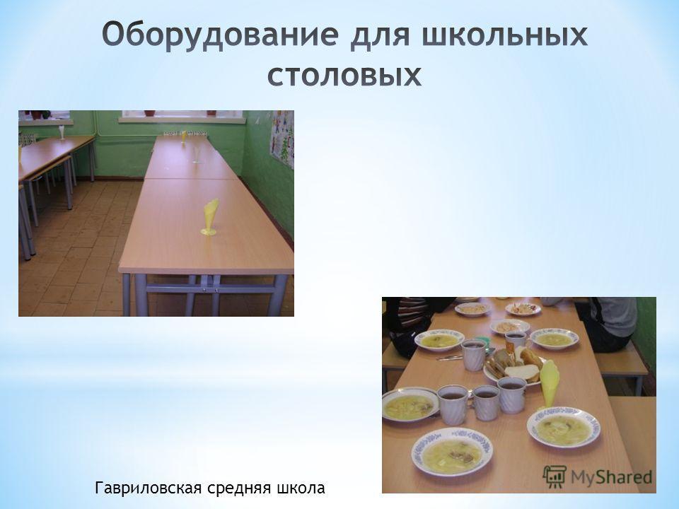 Гавриловская средняя школа