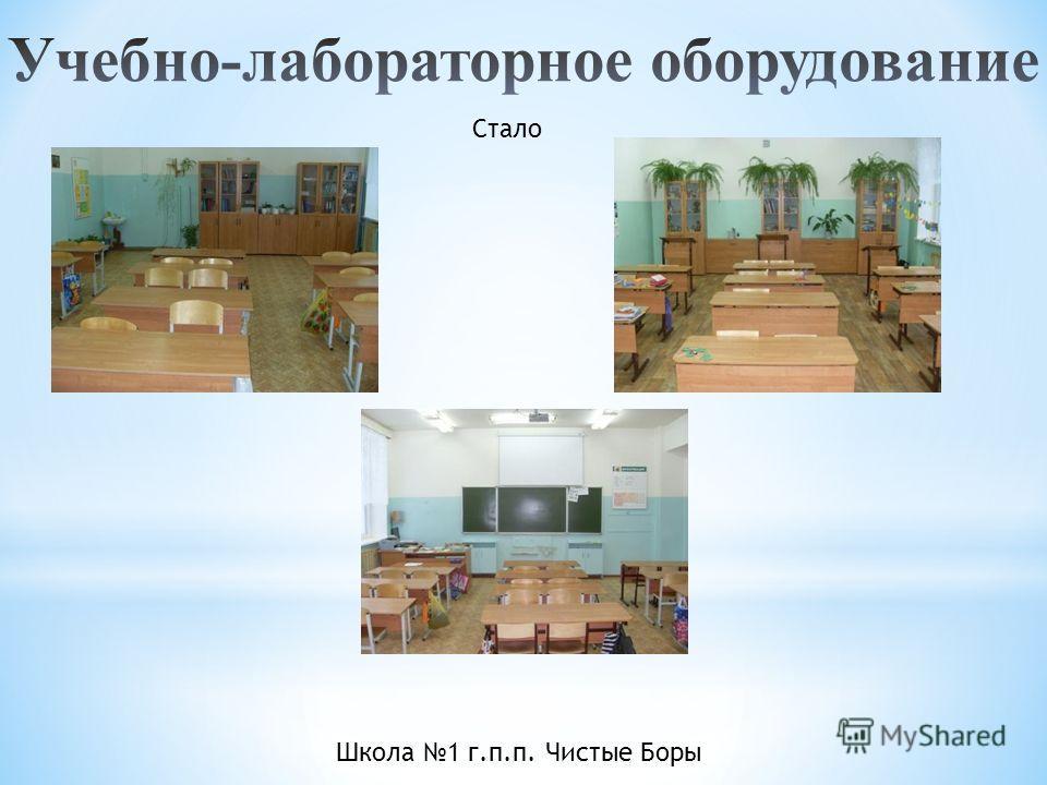 Школа 1 г.п.п. Чистые Боры Стало