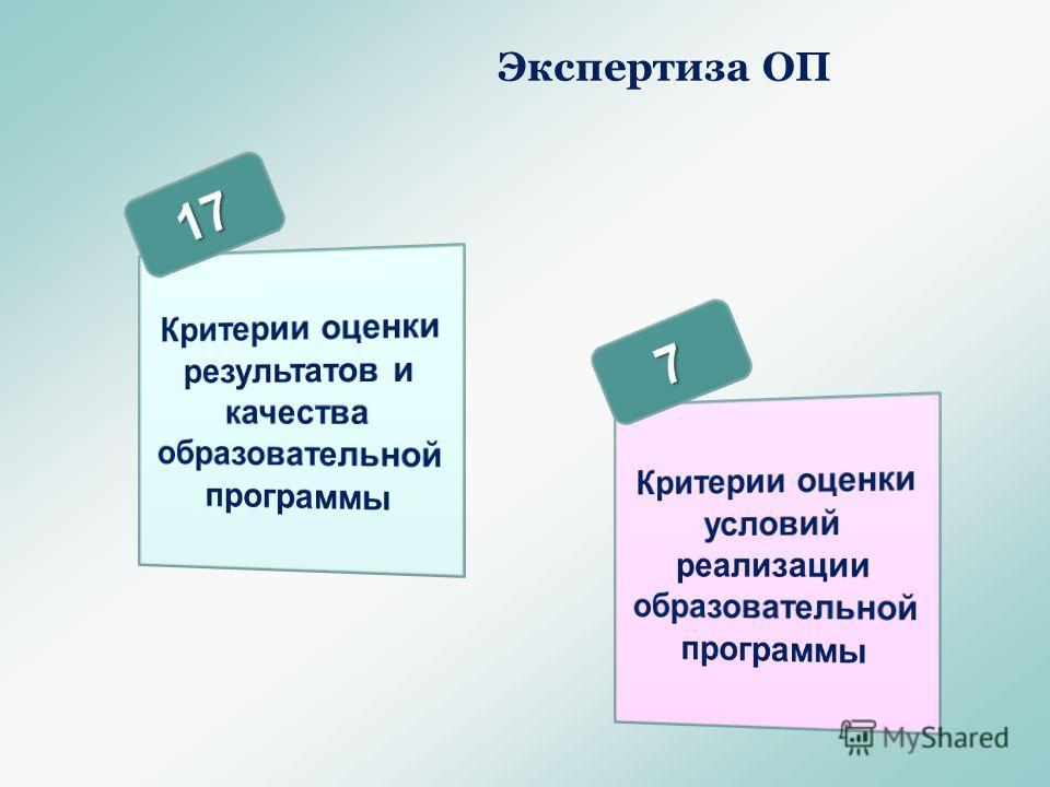 Экспертиза ОП
