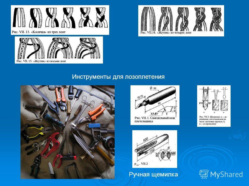 Инструменты для лозоплетения Ручная щемилка