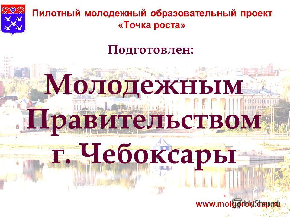 Пилотный молодежный образовательный проект «Точка роста» www.molgorod.cap.ru Подготовлен: Молодежным Правительством г. Чебоксары