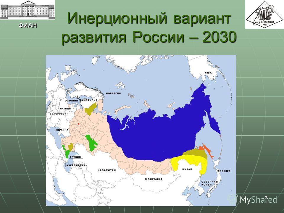 7 Инерционный вариант развития России – 2030 ФИАН