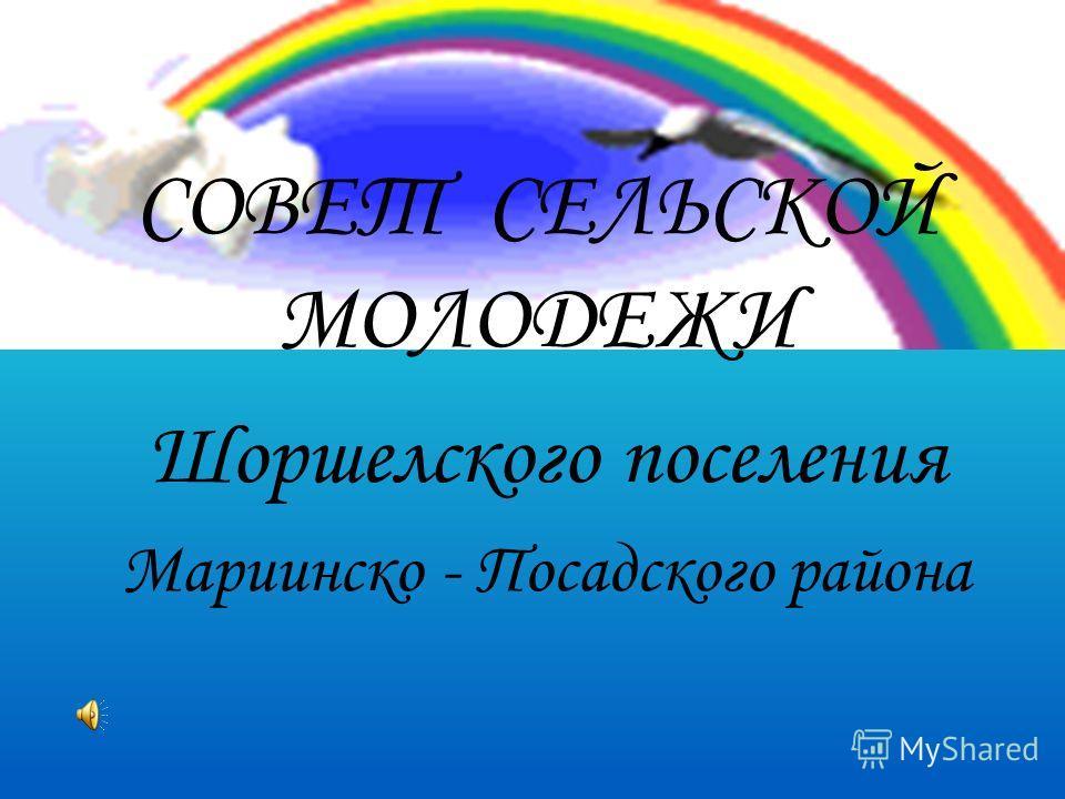 СОВЕТ СЕЛЬСКОЙ МОЛОДЕЖИ Шоршелского поселения Мариинско - Посадского района