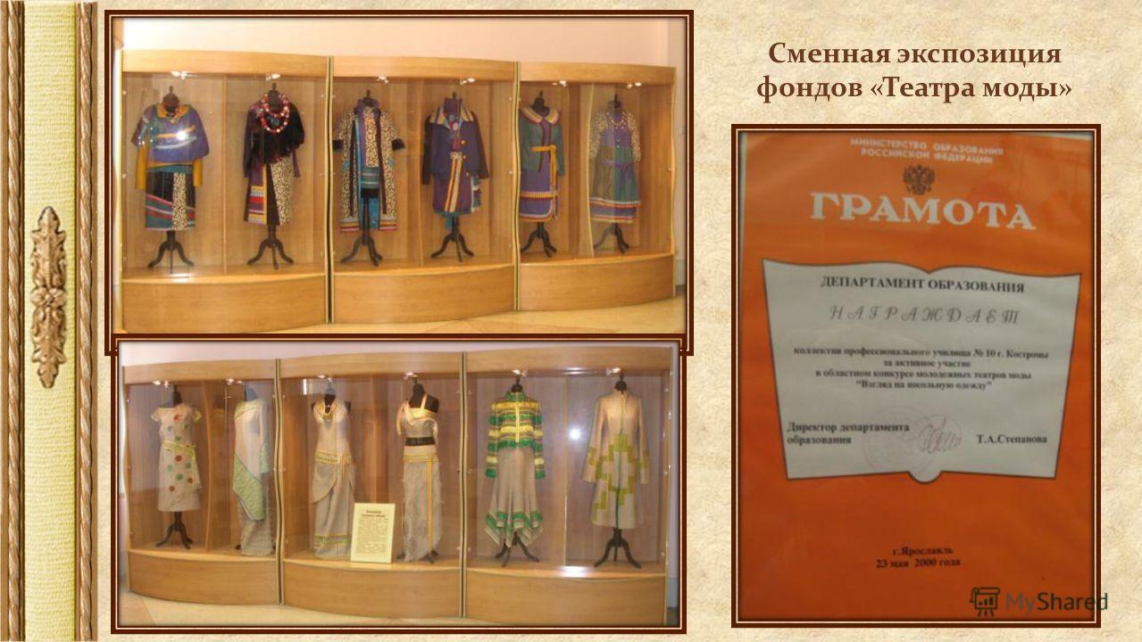 Сменная экспозиция фондов «Театра моды»