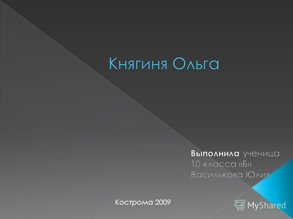 Кострома 2009