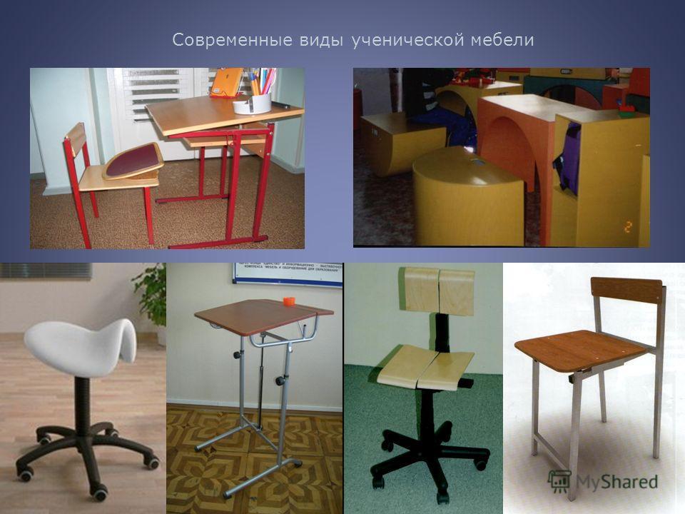 20 Современные виды ученической мебели
