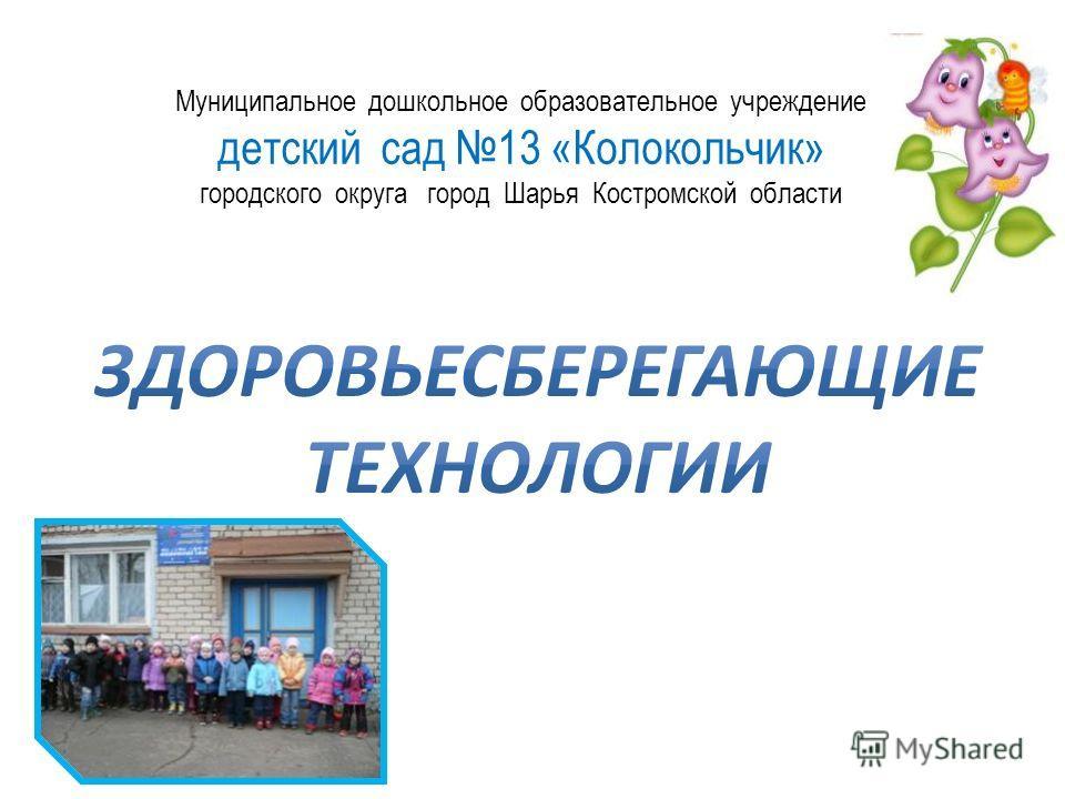 Муниципальное дошкольное образовательное учреждение детский сад 13 «Колокольчик» городского округа город Шарья Костромской области