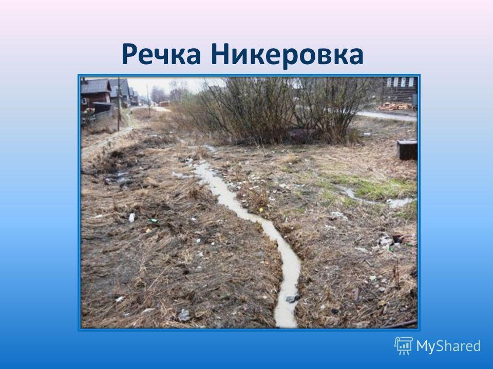 Речка Никеровка
