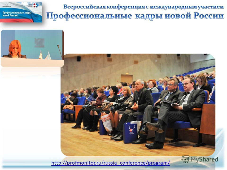 http://profmonitor.ru/russia_conference/program/ 4