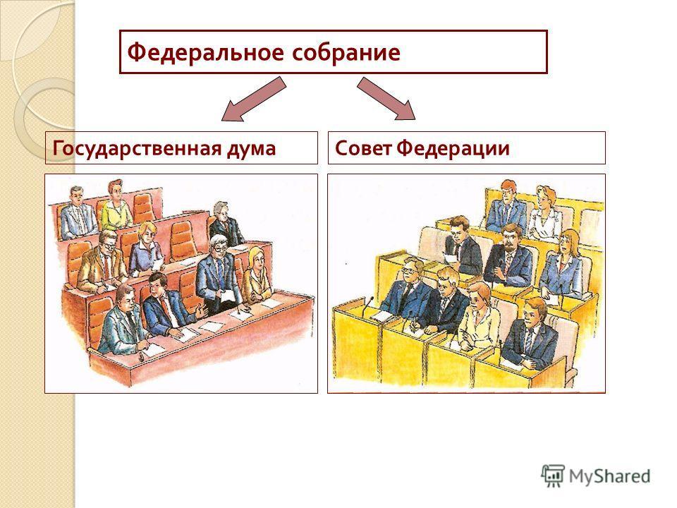 Федеральное собрание Государственная думаСовет Федерации