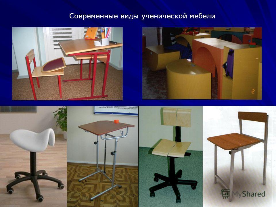 26 Современные виды ученической мебели