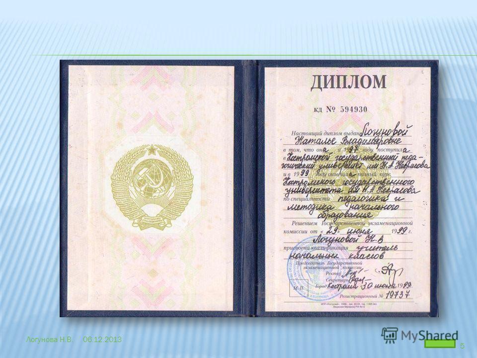 06.12.2013Логунова Н.В. 5