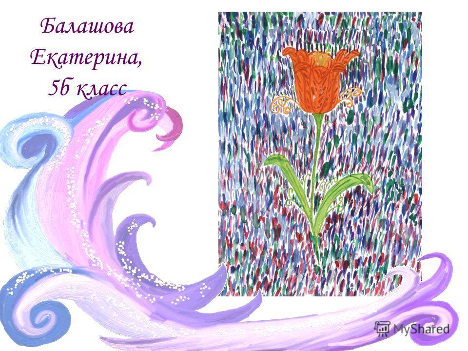 Балашова Екатерина, 5б класс
