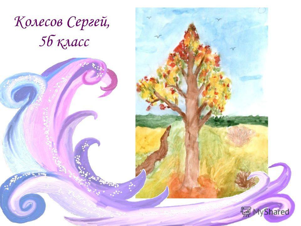 Колесов Сергей, 5б класс