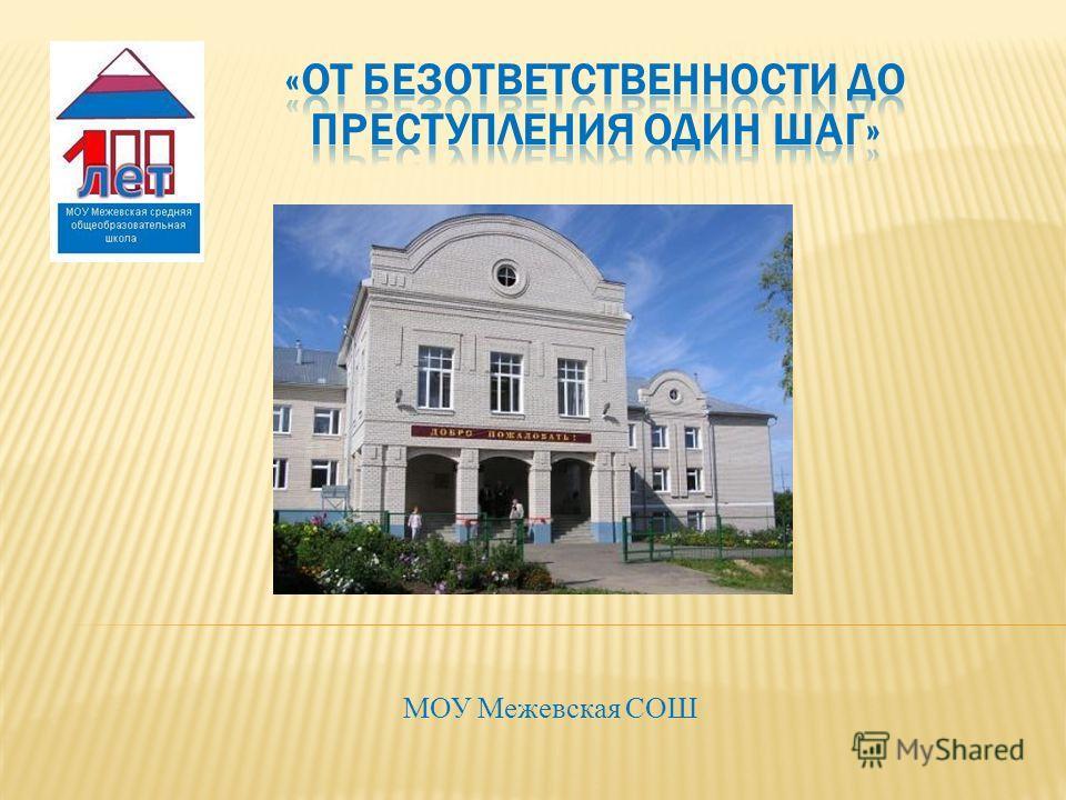 МОУ Межевская СОШ