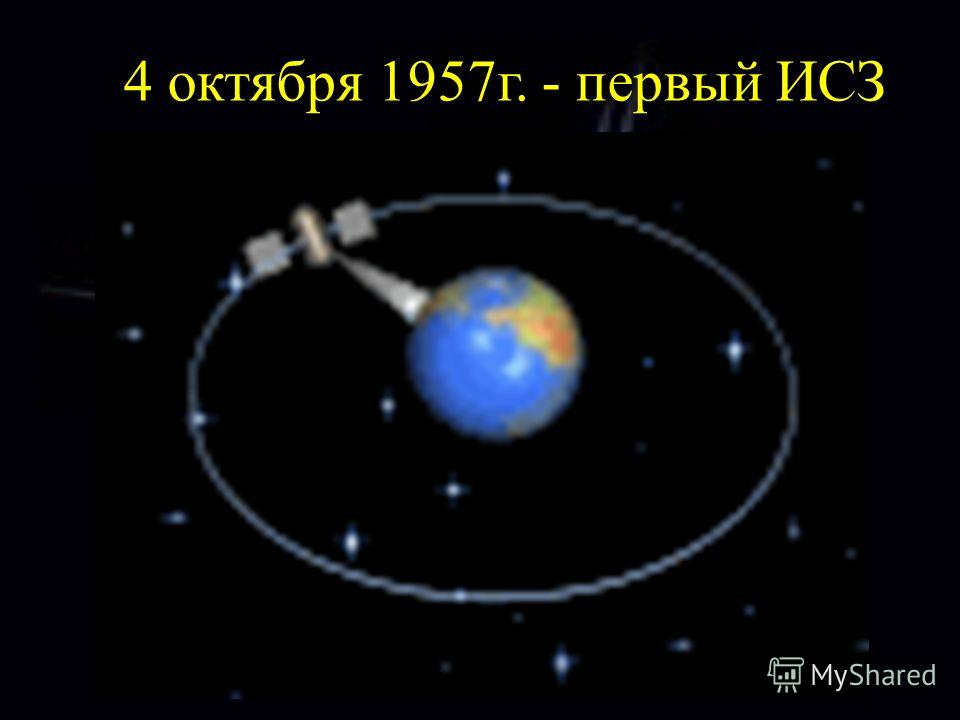 4 октября 1957г. - первый ИСЗ