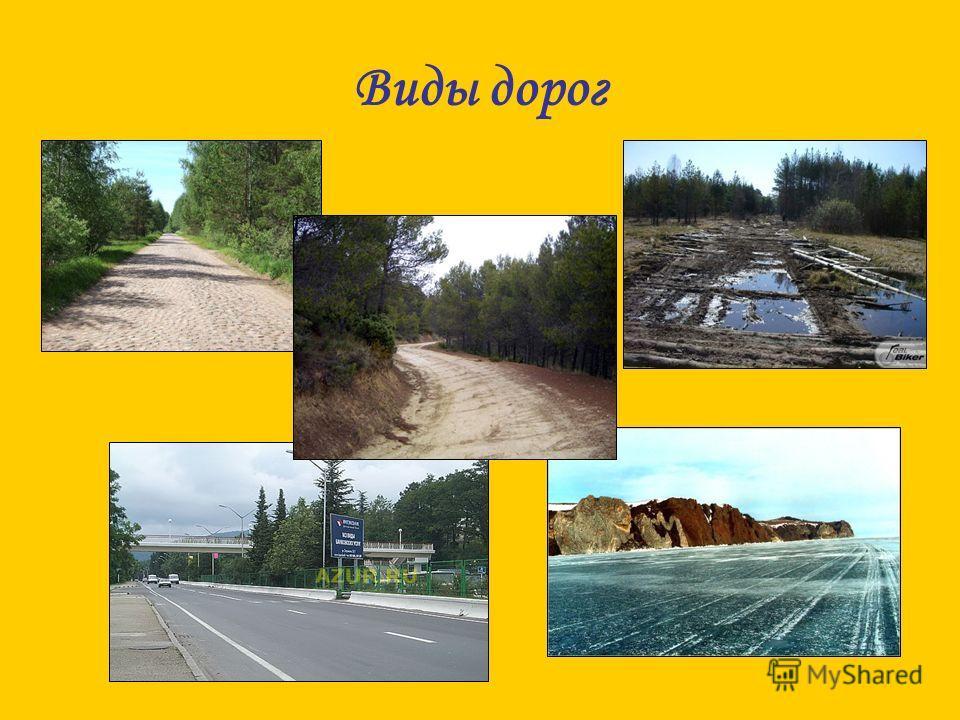 Виды дорог