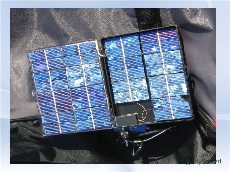 Конструкция фотоэлектрического генератора Солнечный модуль - это батарея взаимосвязанных солнечных элементов, заключенных под стеклянной крышкой. Конструкция фотоэлектрического генератора