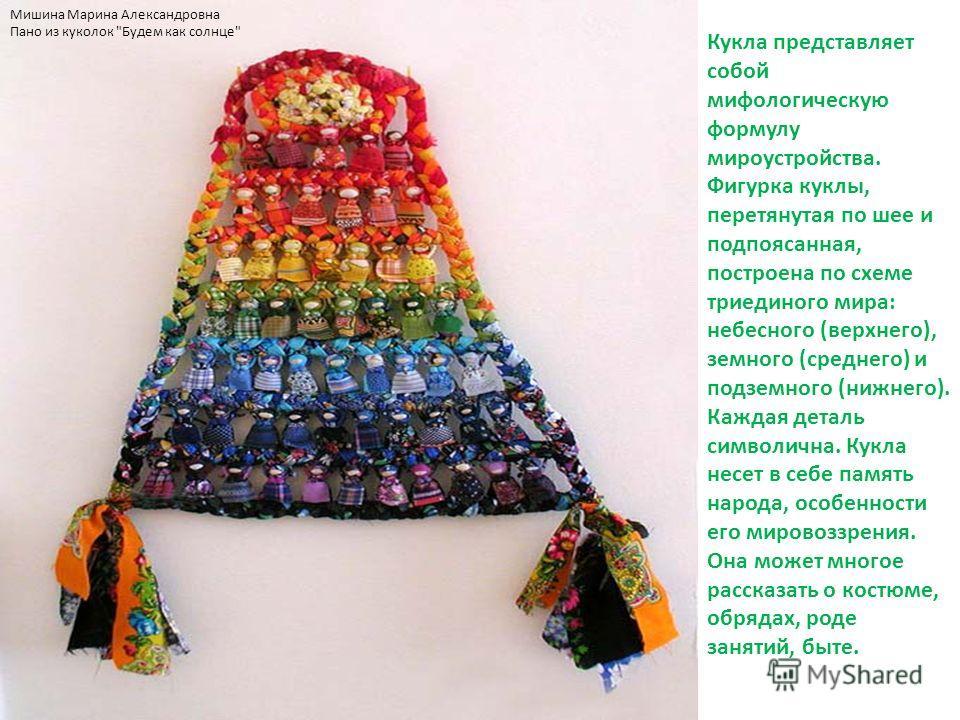 Мишина Марина Александровна Пано из куколок