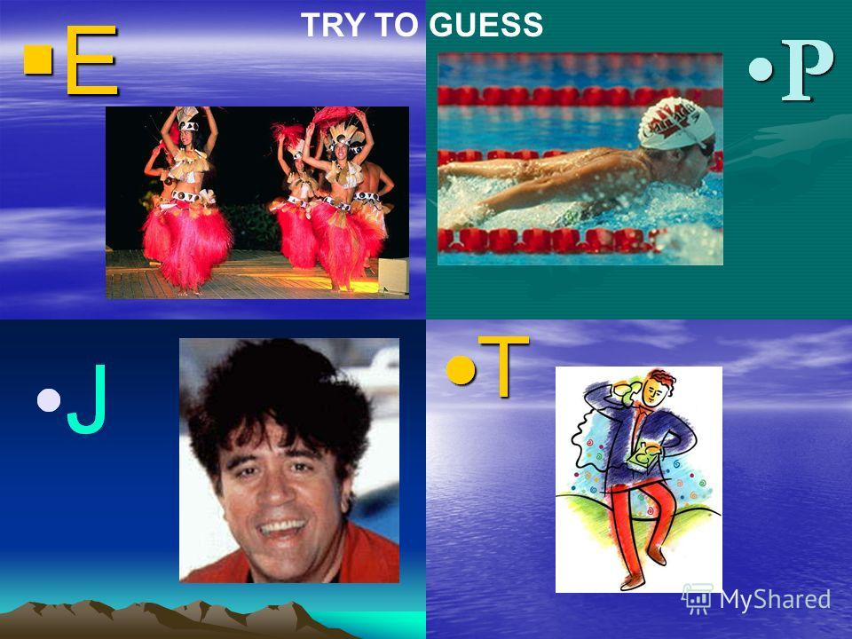 TRY TO GUESS