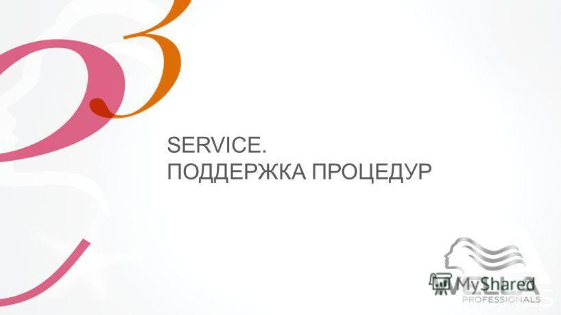 SERVICE. ПОДДЕРЖКА ПРОЦЕДУР