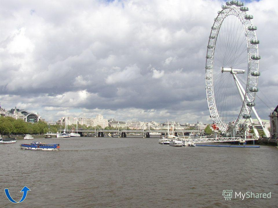 London Eye Magnificent attraction was built in the centre of London specially on the occasion of forthcoming 2000 year. It was called Millennium. Now Londoners call it London Eye. It is 135 m. high – the largest in the world. It takes half an hour to