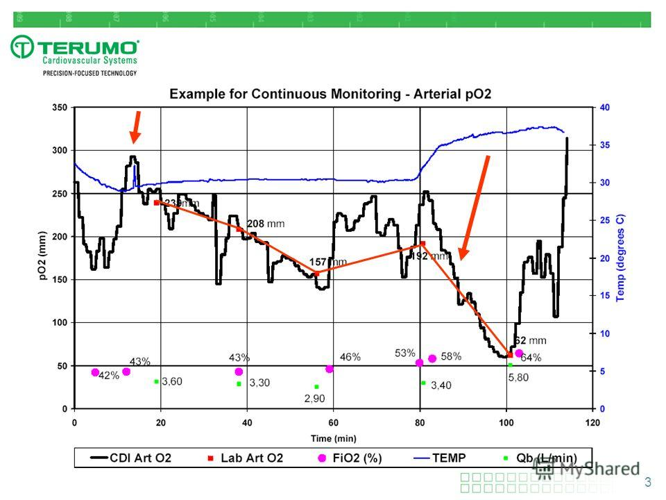 3 Example of Continuous Monitoring Results on PO 2
