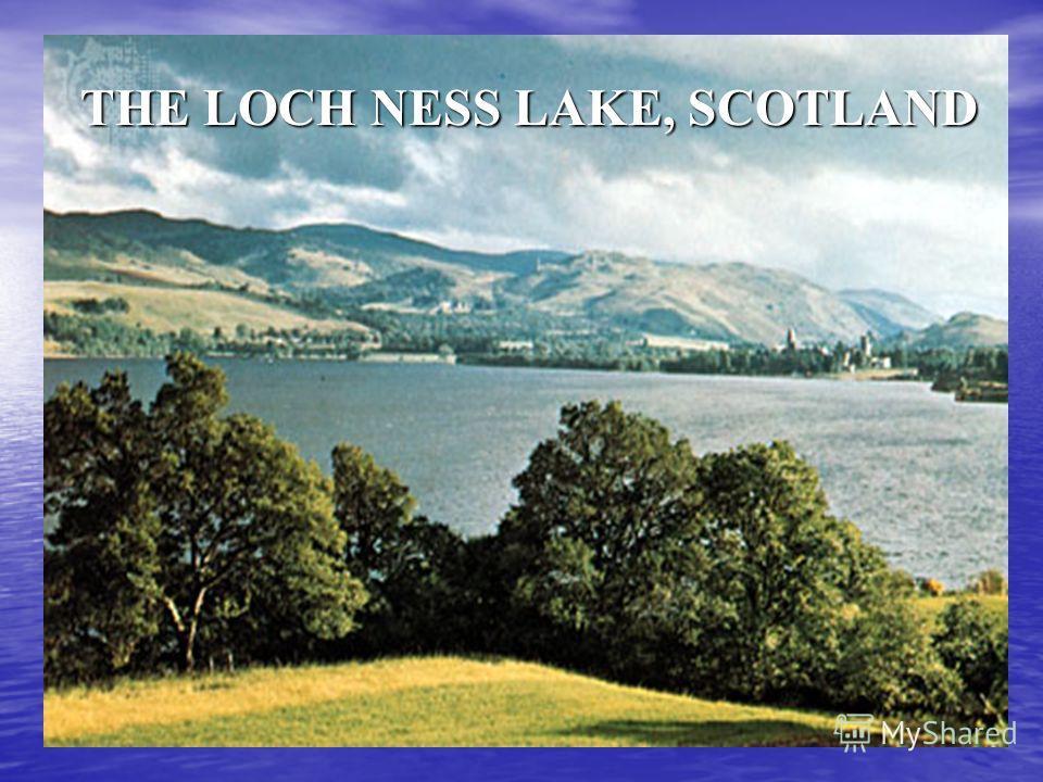 THE LOCH NESS LAKE, SCOTLAND