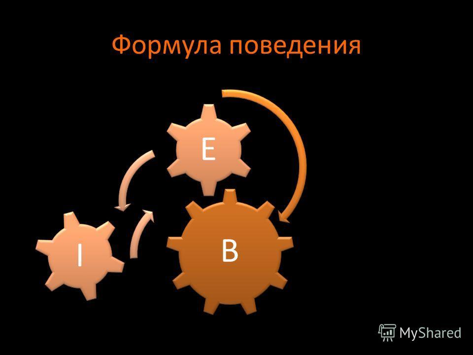 Формула поведения B E I