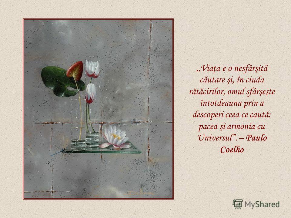 ,,Viaţa noastră e o cărare perpetuă. – Mihai Eminescu