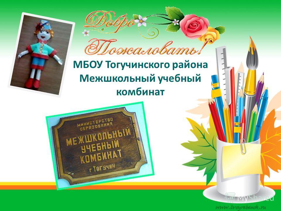 МБОУ Тогучинского района Межшкольный учебный комбинат