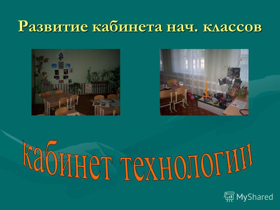 Развитие кабинета нач. классов