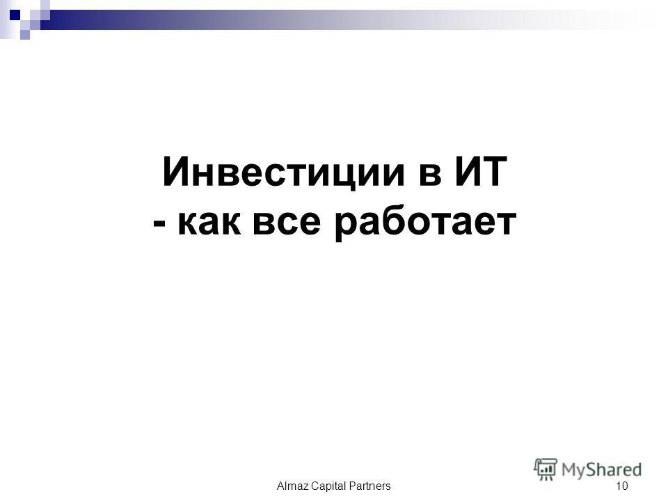 Инвестиции в ИТ - как все работает Almaz Capital Partners10