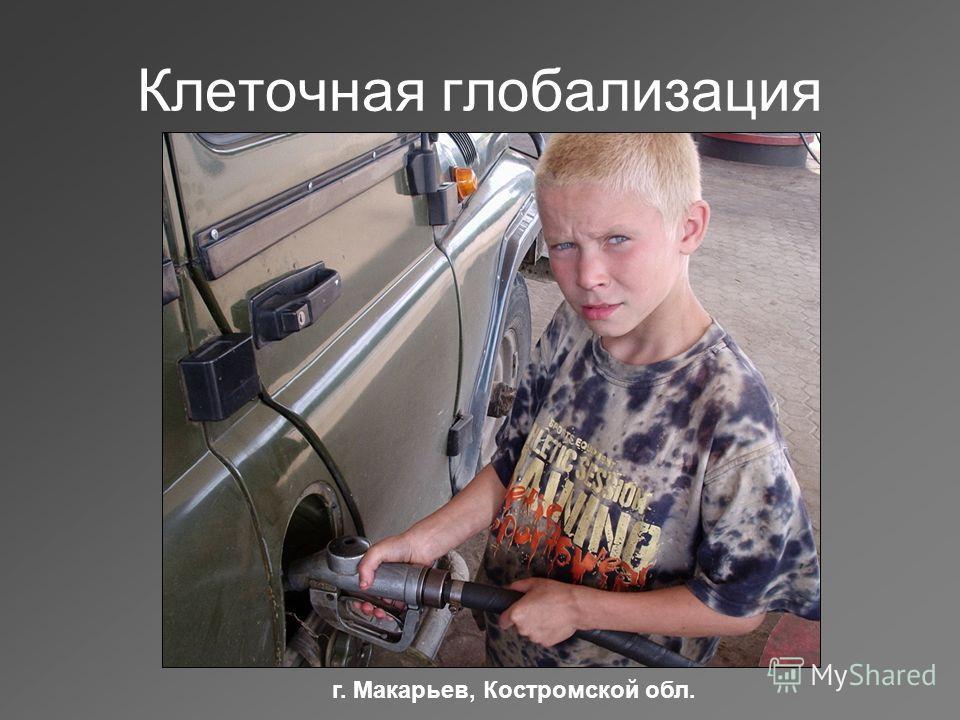 Клеточная глобализация г. Макарьев, Костромской обл.