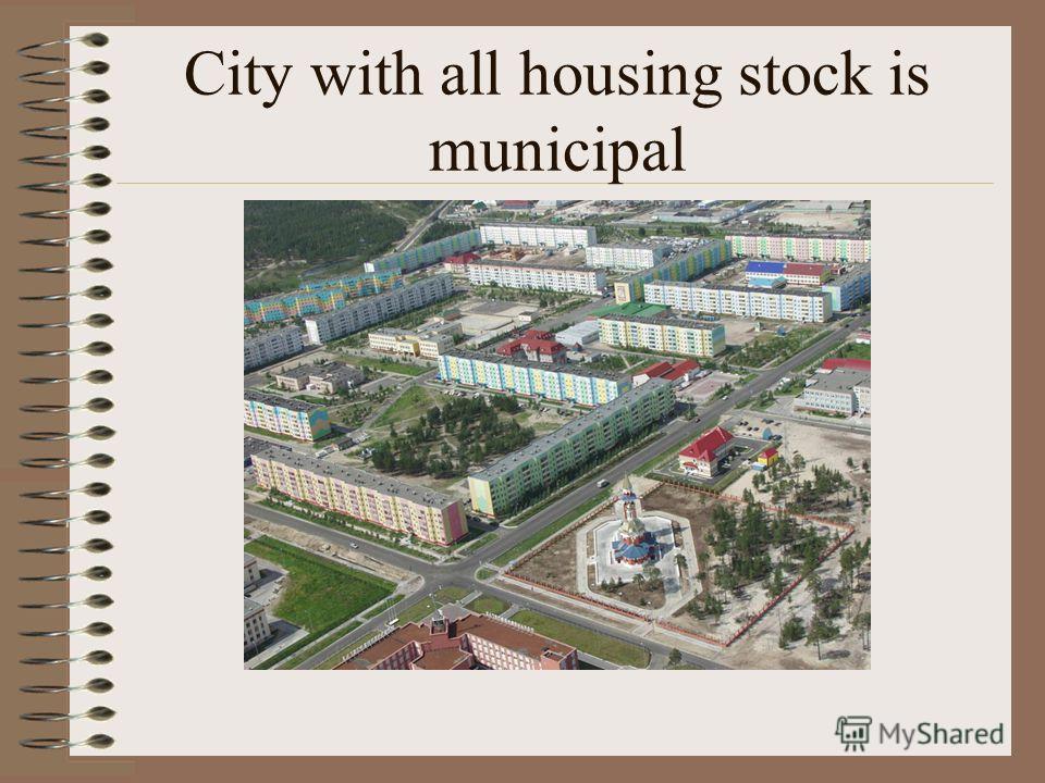 Municipal housing stock in different cities – expert evaluation Lipetsk 43000 m², about 25% Smolents - about 40% Ribinsk - 39 % Novosibirsk 6567700 m² - 26.6 %. Pokachi (UGRA) 90 %