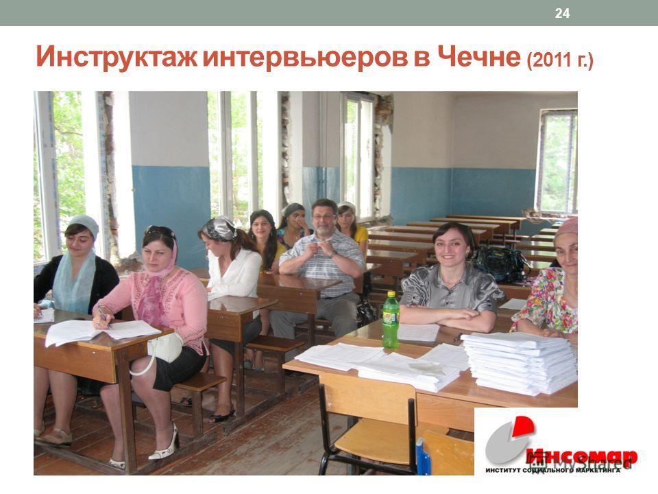 Инструктаж интервьюеров в Чечне (2011 г.) 24