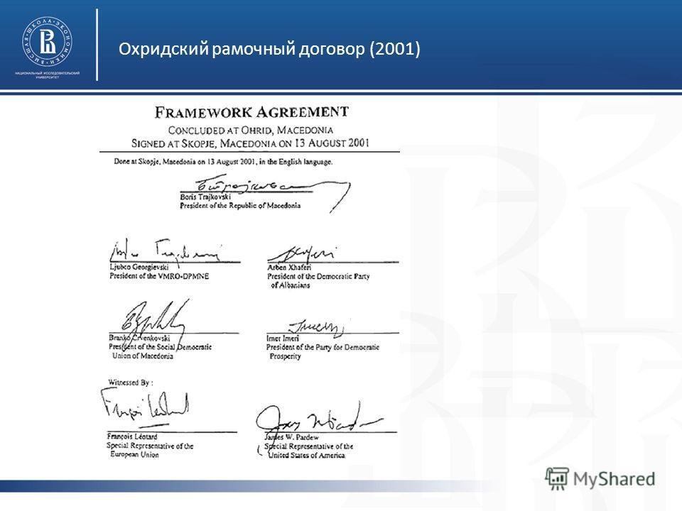 Охридский рамочный договор (2001)