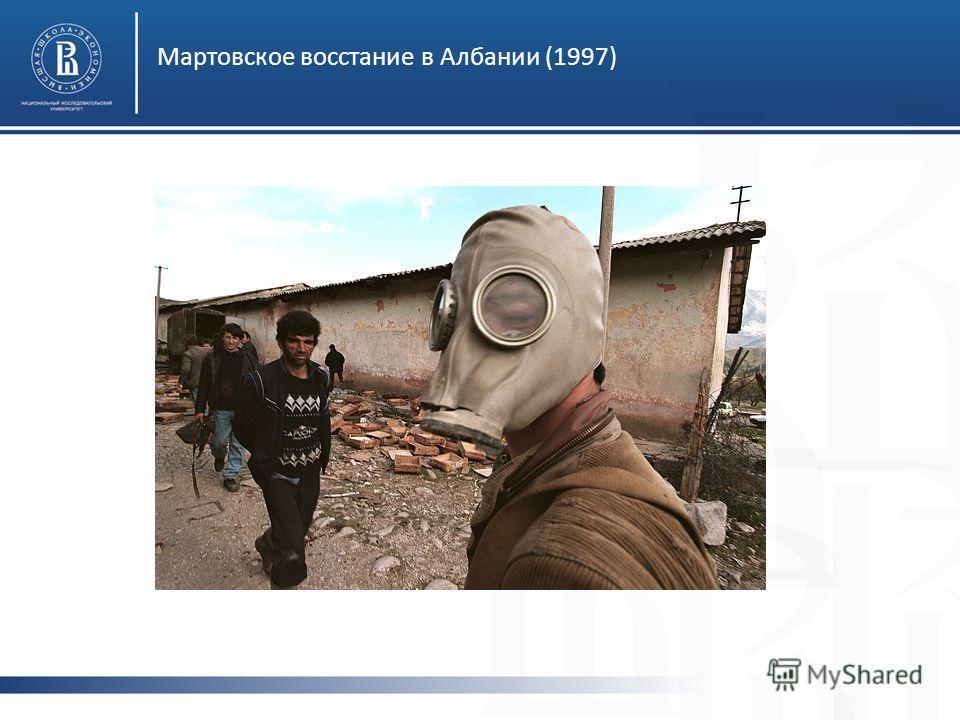Мартовское восстание в Албании (1997)