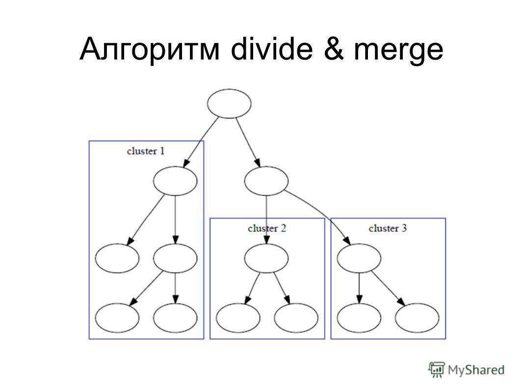 Алгоритм divide & merge