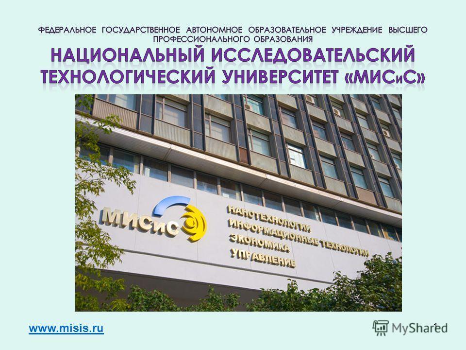 1 www.misis.ru