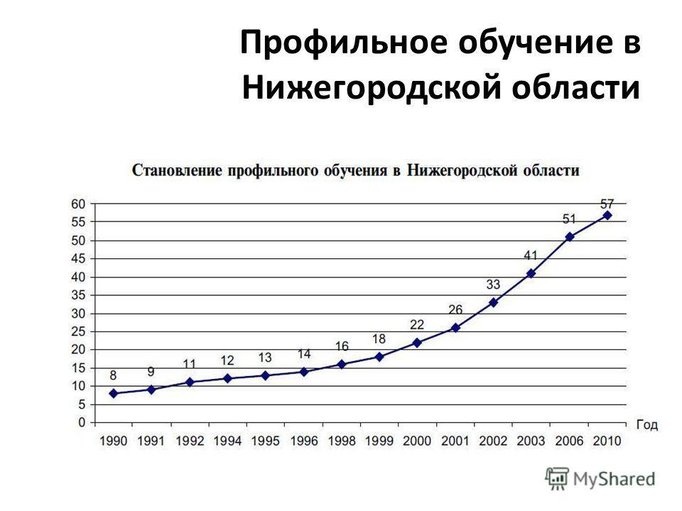 Профильное обучение в Нижегородской области