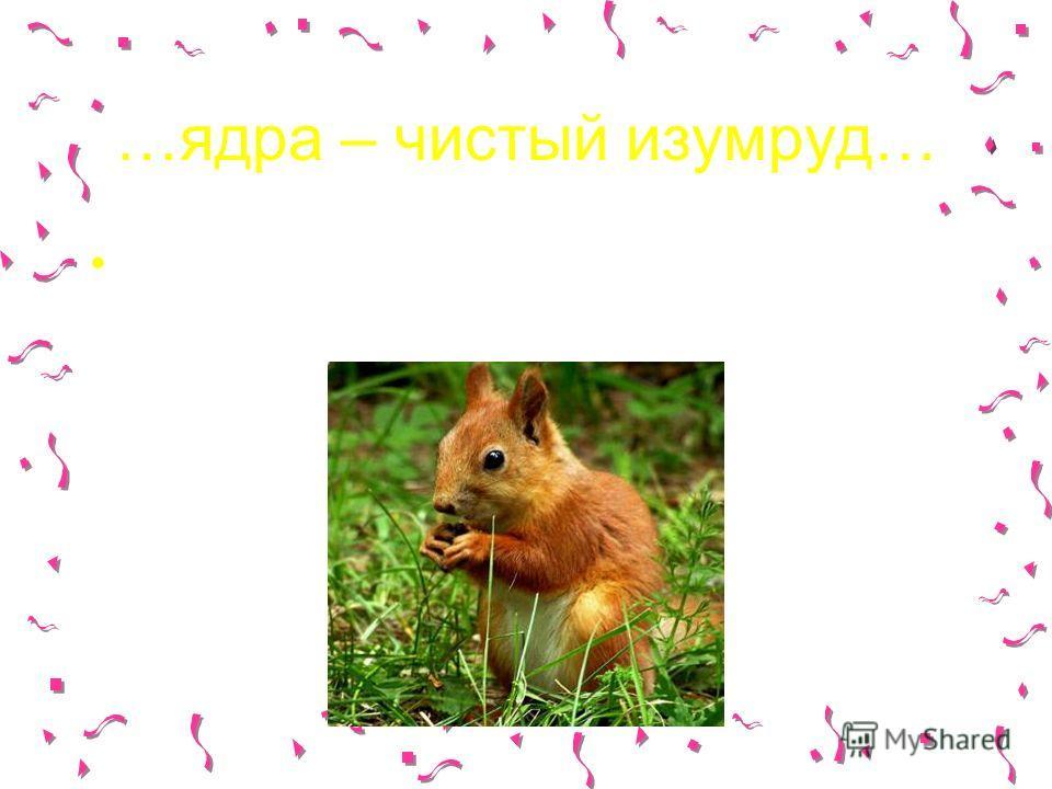 …ядра – чистый изумруд… У Пушкина белочка ищет ядрышки в орешках, а мы поищем в процессорах!