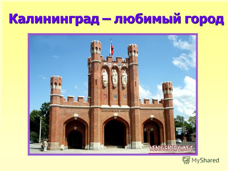 Калининград – любимый город