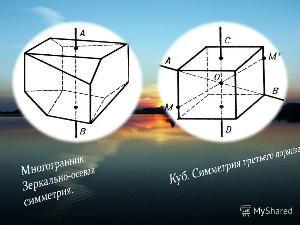 Изображения на плоскости многих предметов окружающего нас мира имеют ось симметрии или центр симметрии. Многие листья деревьев и лепестки цветов симметричны относительно среднего стебля. С симметрией мы часто встречаемся в искусстве. архитектуре. тех