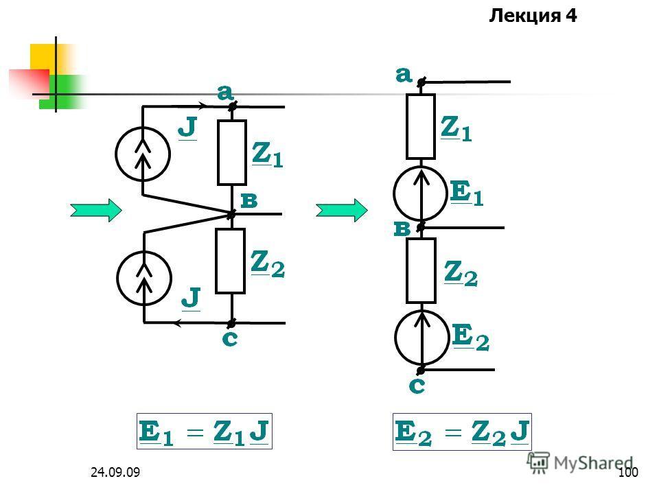 Лекция 4 24.09.0999 9. Перенос источников тока