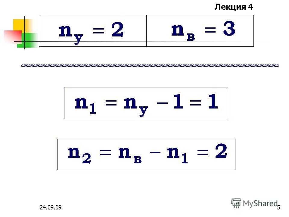 Лекция 4 24.09.094 Например : a + 1 к. 2 к. в