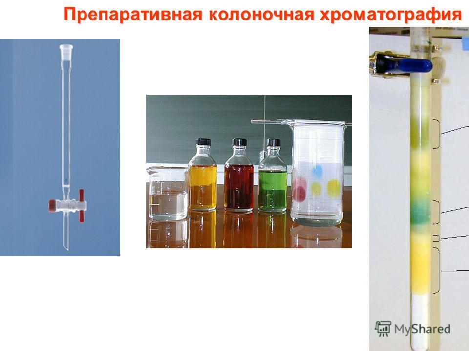 Препаративная колоночная хроматография