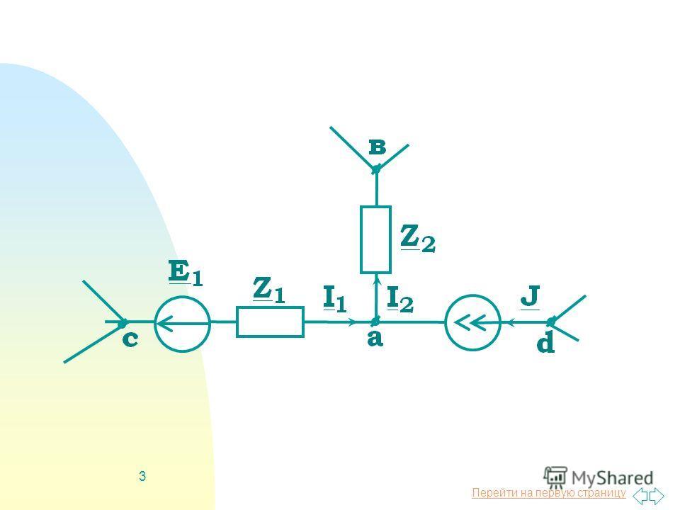 Перейти на первую страницу 2 Метод узловых потенциалов