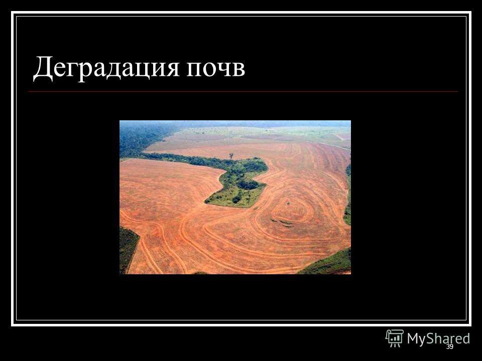 Деградация почв 39