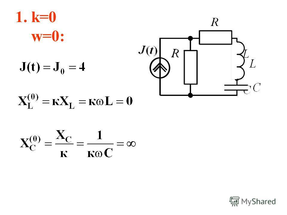 1. k=0 w=0: